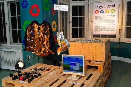 Recyclinghof im eBay Showhaus