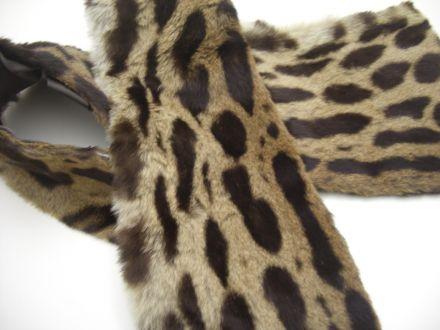 Vintage Leopardenschal