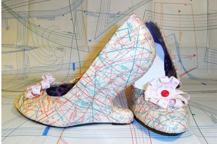 Schnittmuster Schuhe