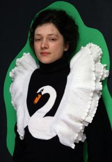 Schwanenhals Pullover von K.I.N.D.