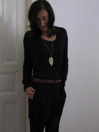 Short schwarz von Zara