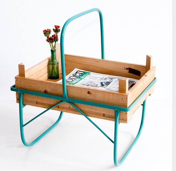 Side Table Green von I am Recycled auf DaWanda
