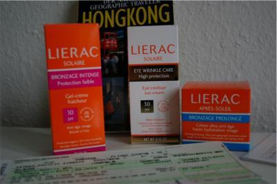 Sonnenpflege Produkte von Lierac