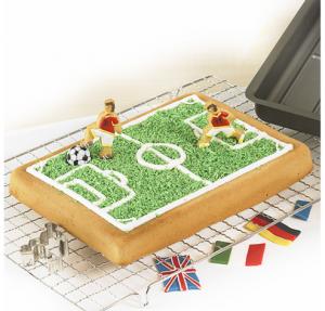 WM Fußball Backform