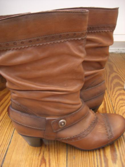 Neues Schuhwerk