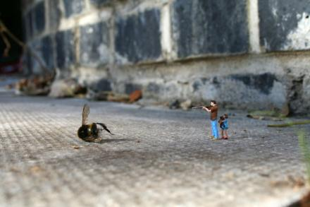 They're not pets, Susan von Slinkachu