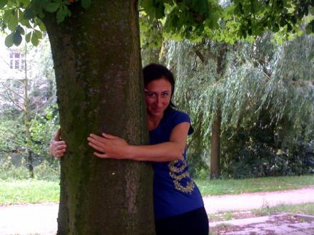 Treehugger im Greenality Shirt