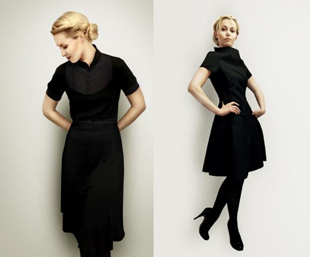 Kleid im Vintage Stil über Femkit auf DaWanda