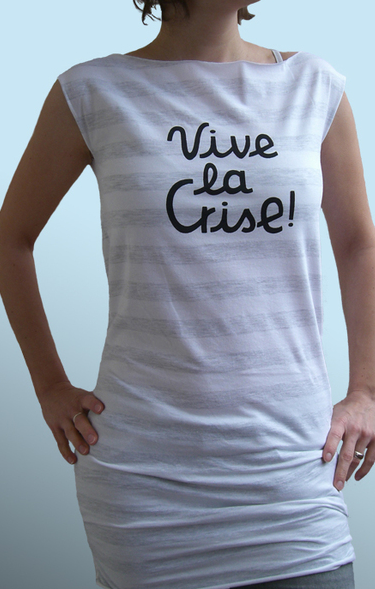 Vive la crise Shirt von berlinillustrated