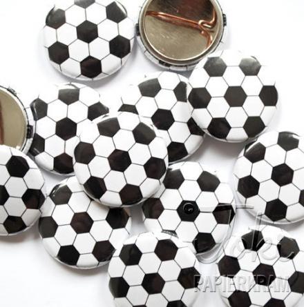 Fußball WM Button