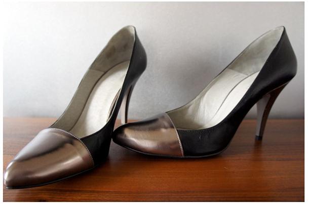 wei e high heels mit silbernem absatz von zalando. Black Bedroom Furniture Sets. Home Design Ideas