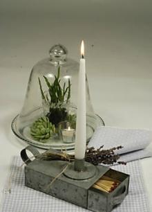Zink Kerzenleuchter von Home und Country über eBay